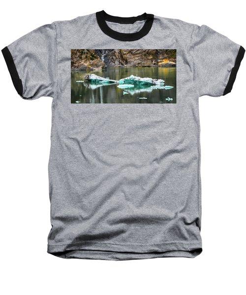 Alaskan Icebergs Baseball T-Shirt