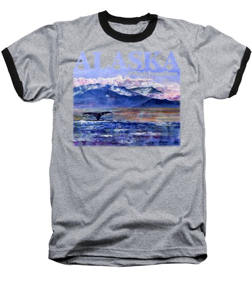 Alaskan Landscape On Water Shirt Baseball T-Shirt