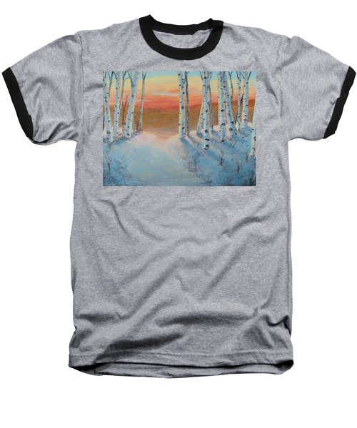 Alaskan Road Baseball T-Shirt