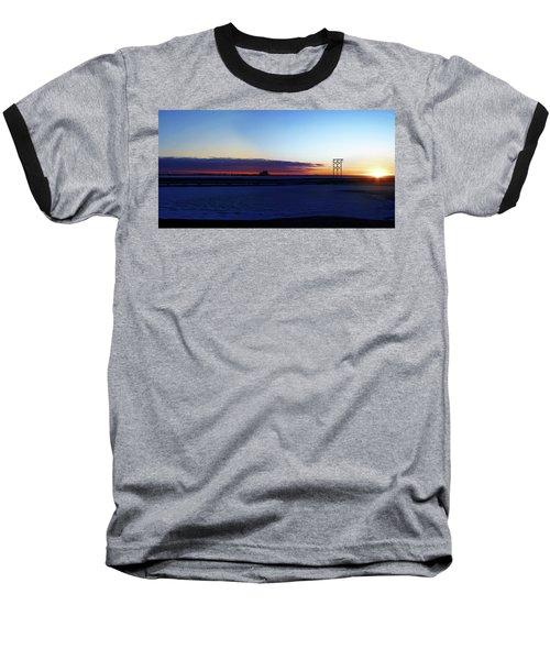 Alaskan Sunrise Baseball T-Shirt