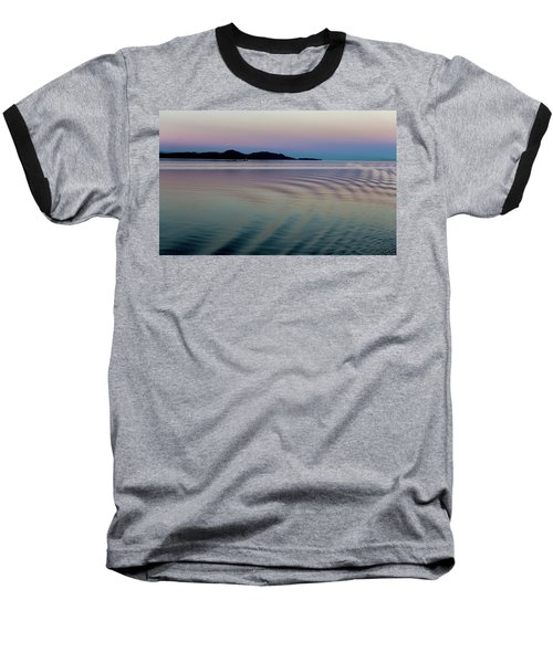 Alaskan Sunset At Sea Baseball T-Shirt