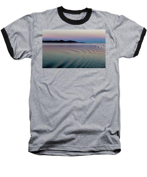 Alaskan Sunset At Sea Baseball T-Shirt