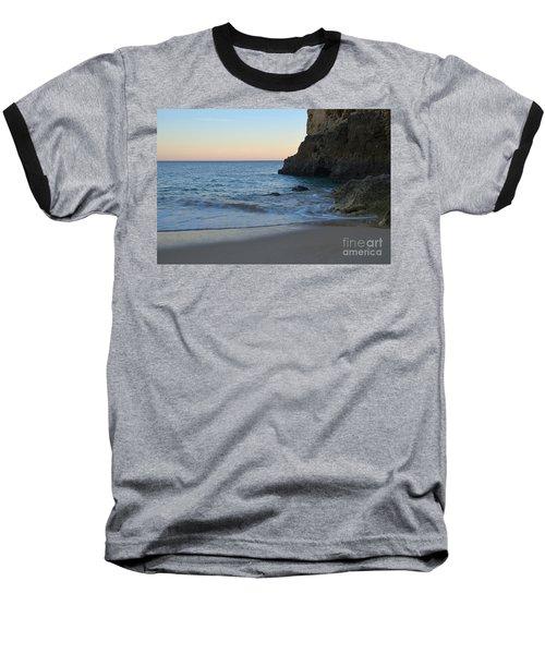 Albandeira Beach Welcoming Twilight 2 Baseball T-Shirt by Angelo DeVal