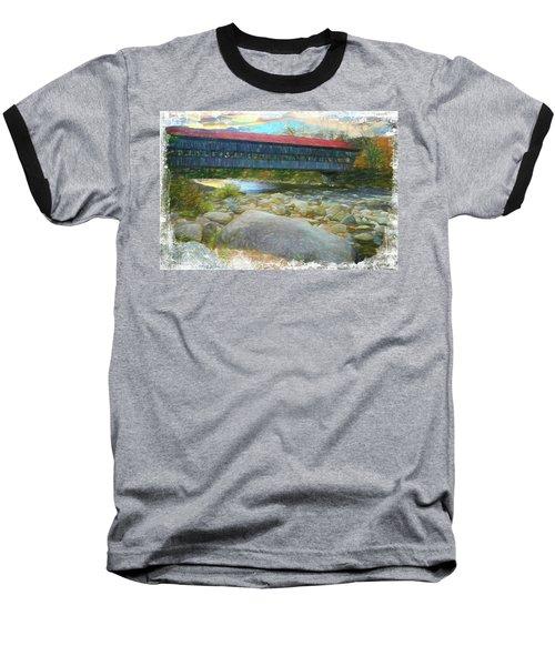 Albany Covered Bridge Nh. Baseball T-Shirt