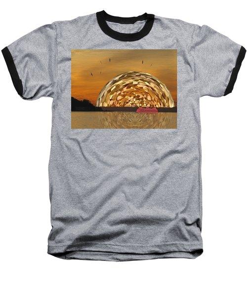 Albatross Setting Baseball T-Shirt