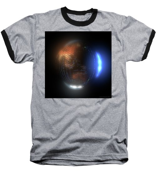 Albedo - Transition From Night To Day Baseball T-Shirt