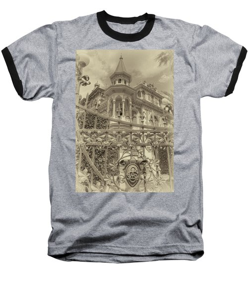 Albert Chamas Villa Baseball T-Shirt