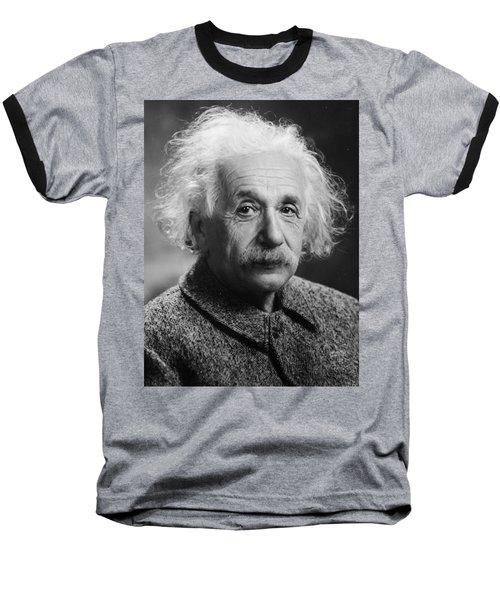 Albert Einstein Baseball T-Shirt