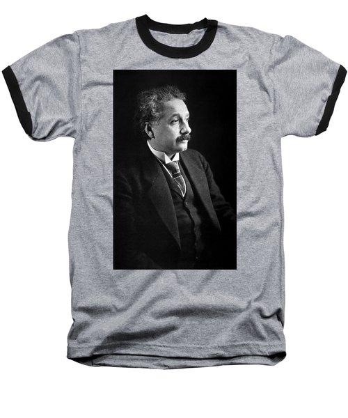 Albert Einstein Photo 1921 Baseball T-Shirt