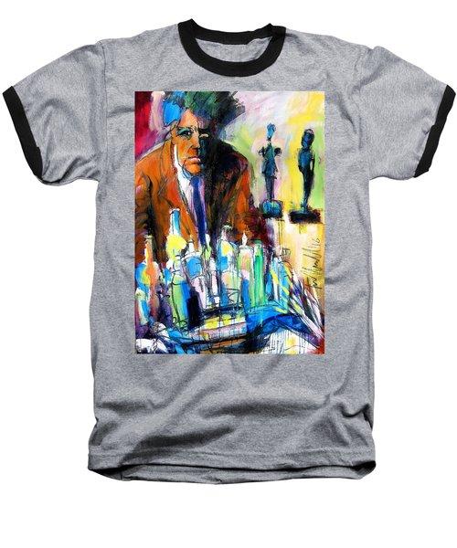 Alberto Baseball T-Shirt by Les Leffingwell