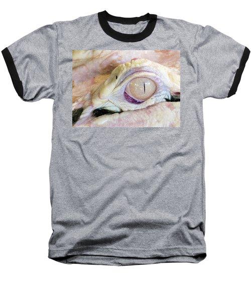 Albino Alligator Baseball T-Shirt by Lamarre Labadie