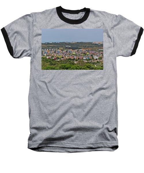 Albufeira Marina View Baseball T-Shirt