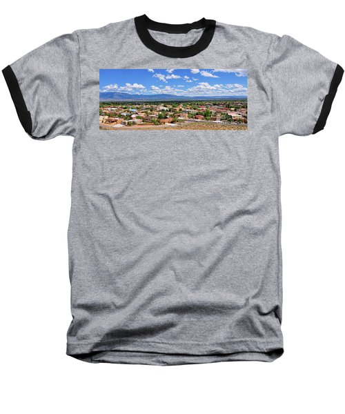 Baseball T-Shirt featuring the photograph Albuquerque West Side by Gina Savage
