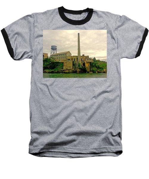 Alcatraz From The West Baseball T-Shirt