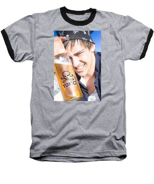 Baseball T-Shirt featuring the photograph Yo Ho Ho And A Bottle Of Rum by Jorgo Photography - Wall Art Gallery