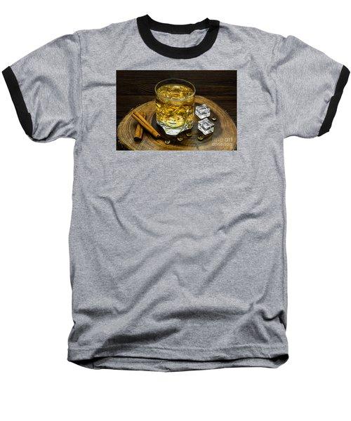 Alcoholic Beverage With Cinnamon And Ice Baseball T-Shirt
