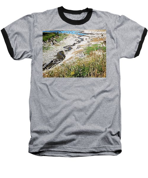 Alder Lake Stumps Baseball T-Shirt by Joseph Hendrix
