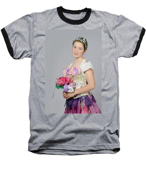 Alegra In Paper Floral Dress Baseball T-Shirt