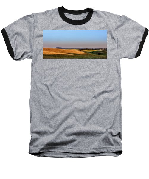 Baseball T-Shirt featuring the photograph Alentejo Fields by Marion McCristall