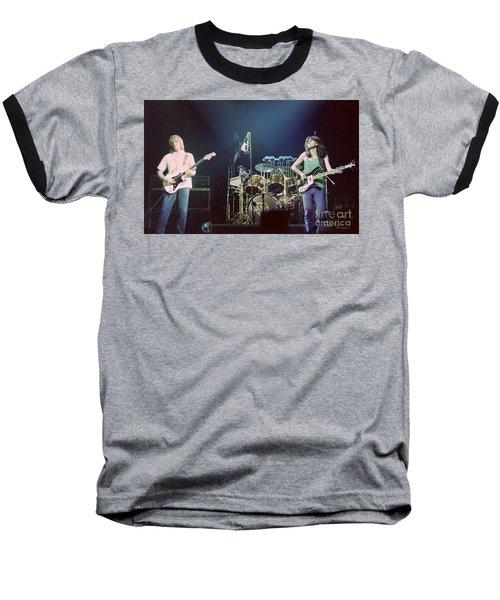 Alex Geddy And Neil Baseball T-Shirt