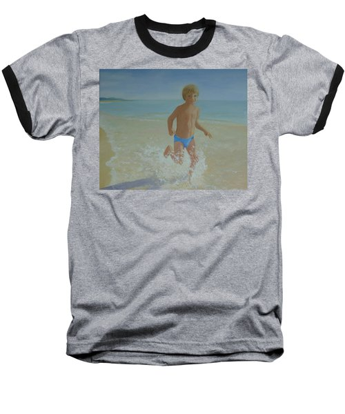 Alex On The Beach Baseball T-Shirt