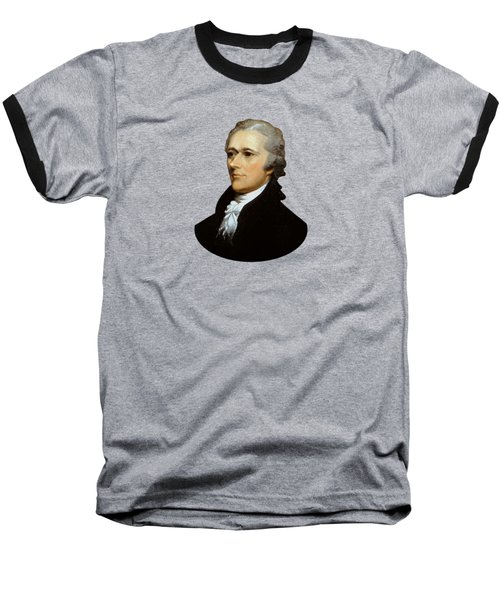 Alexander Hamilton Baseball T-Shirt by War Is Hell Store