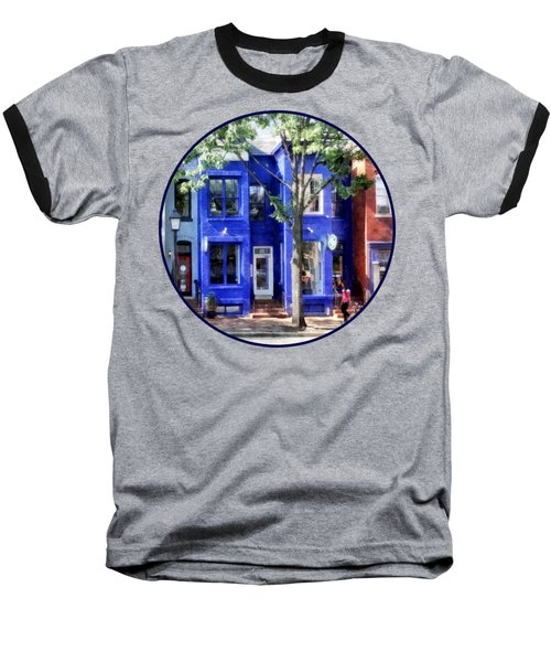 Alexandria Va - Colorful Street Baseball T-Shirt