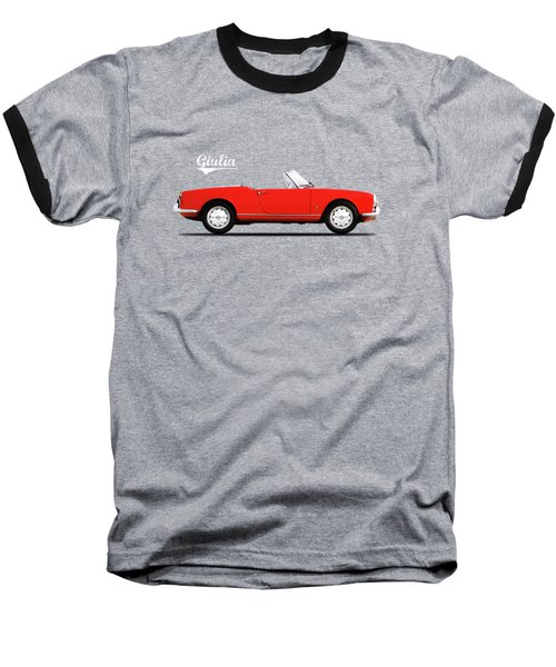 Alfa Giulia Spider 1964 Baseball T-Shirt