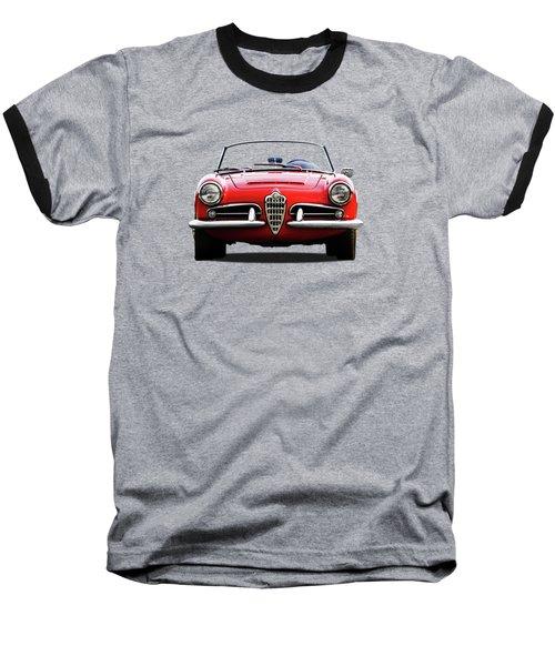 Alfa Romeo Spider Baseball T-Shirt