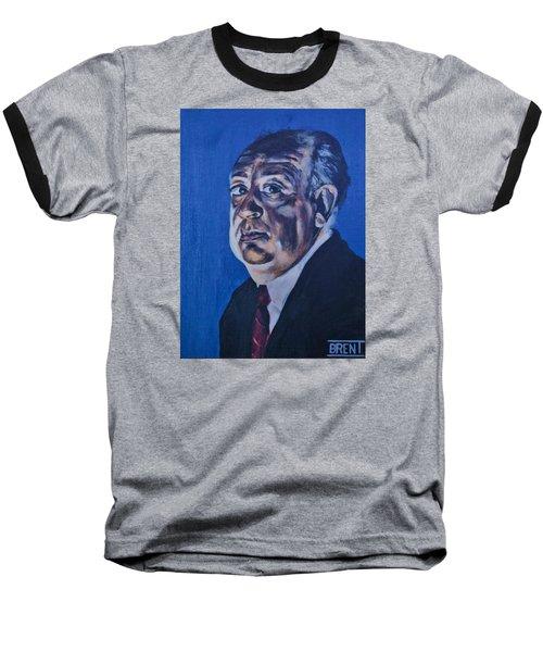 Alfred Hitchcock Baseball T-Shirt