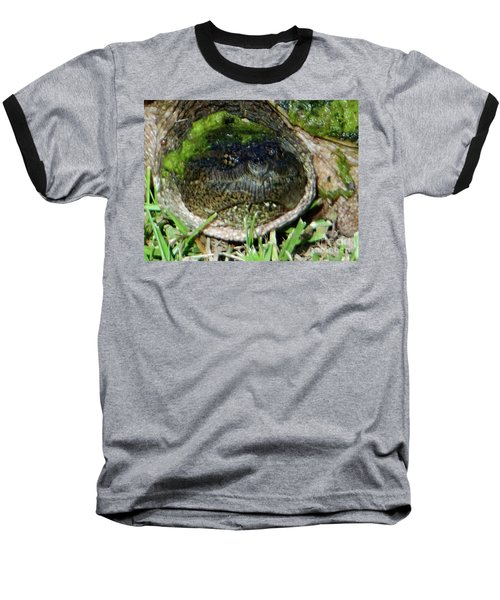 Algae Face Common Snapper Baseball T-Shirt