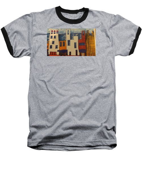 Baseball T-Shirt featuring the painting Algiers by Don Koester