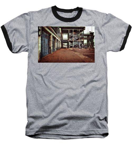 Algiers Ferry Dock Baseball T-Shirt