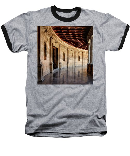 Alhambra Reflections Baseball T-Shirt by Marion McCristall