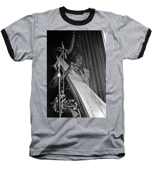 Alice Coltrane On Harp Baseball T-Shirt