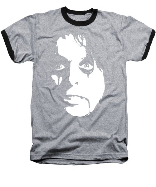 Alice Cooper Pop Art Baseball T-Shirt