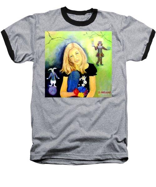 Alice In Garden Baseball T-Shirt