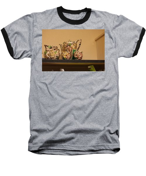 Alice's Tea Party Baseball T-Shirt