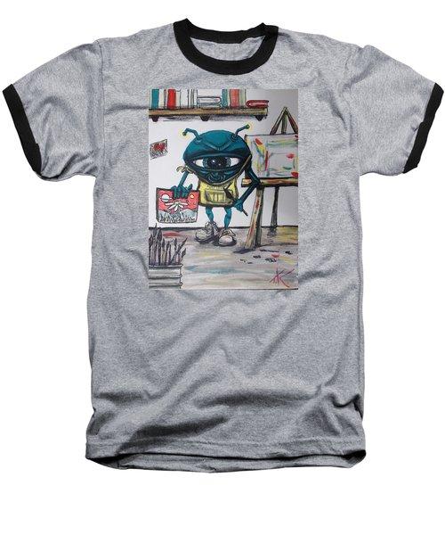 Alien Artist Baseball T-Shirt