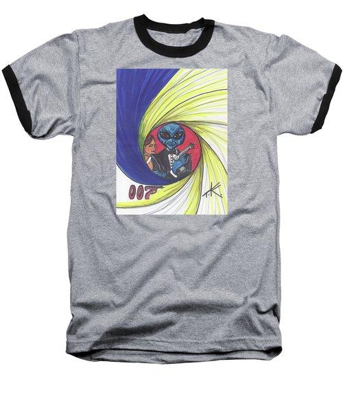 alien Bond Baseball T-Shirt