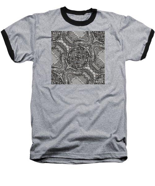 Alien Building Materials Baseball T-Shirt by Craig Walters