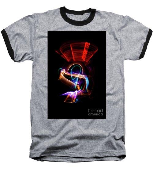 Alien Chair Baseball T-Shirt