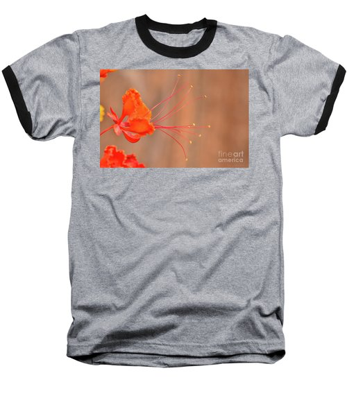 Alien Flower Baseball T-Shirt