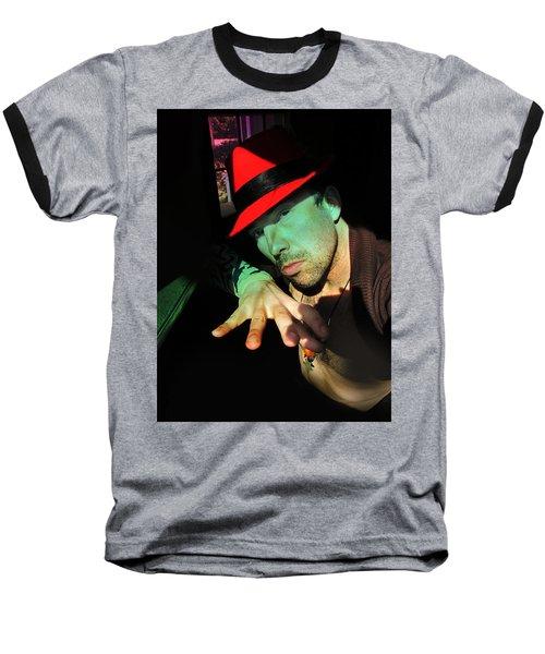 Alien Hat Baseball T-Shirt