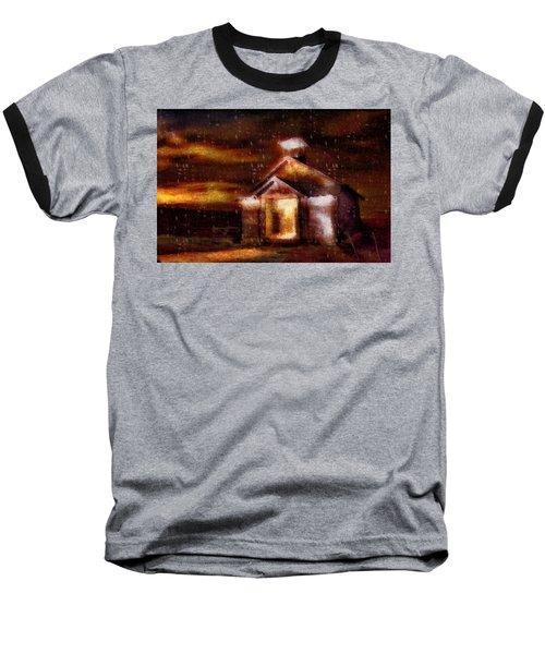 Alien Home Baseball T-Shirt