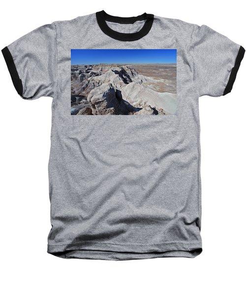 Alien Landscape Baseball T-Shirt