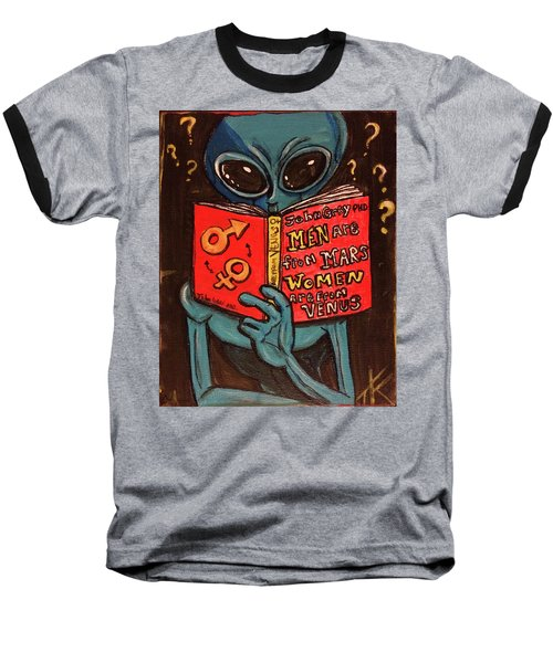 Alien Looking For Answers About Love Baseball T-Shirt