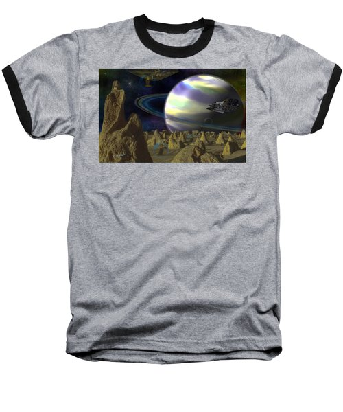 Alien Repose Baseball T-Shirt