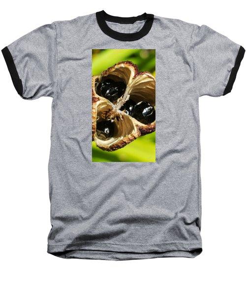 Alien Scream Baseball T-Shirt by Bruce Carpenter