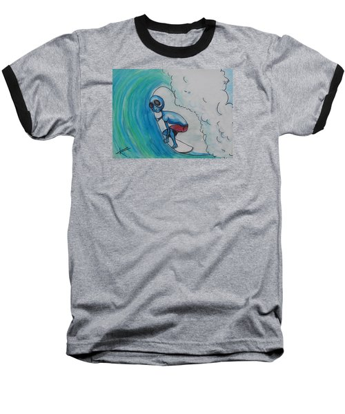 Alien Tube Baseball T-Shirt